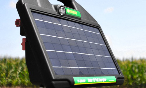 Solar Powered Fence Chargers