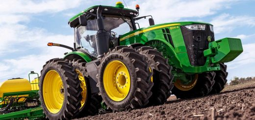 John Deere Industrial Farm Equipment