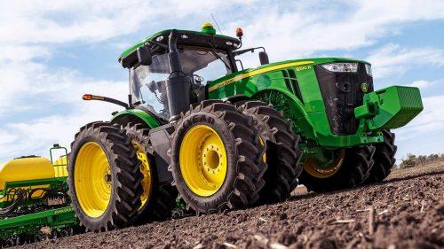 John Deere Industrial Farm Equipment